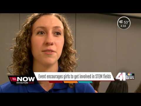 Teen girls encouraged to pursue tech careers