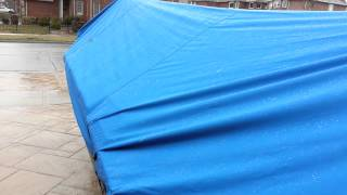 Boat cover 300D polyester