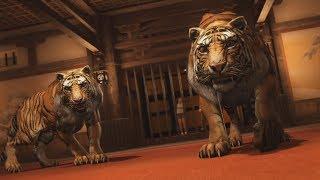 Yakuza Kiwami 2 Boss - Tigers Dropped (No Damage)