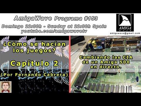 AmigaWave #153 - ¿ Cómo se hacían... ? parte 2, cambiando los chip CIA de un Amiga 500.