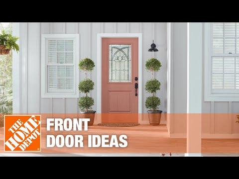A video highlighting front door ideas.