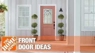 A video highlighting front door ideas.