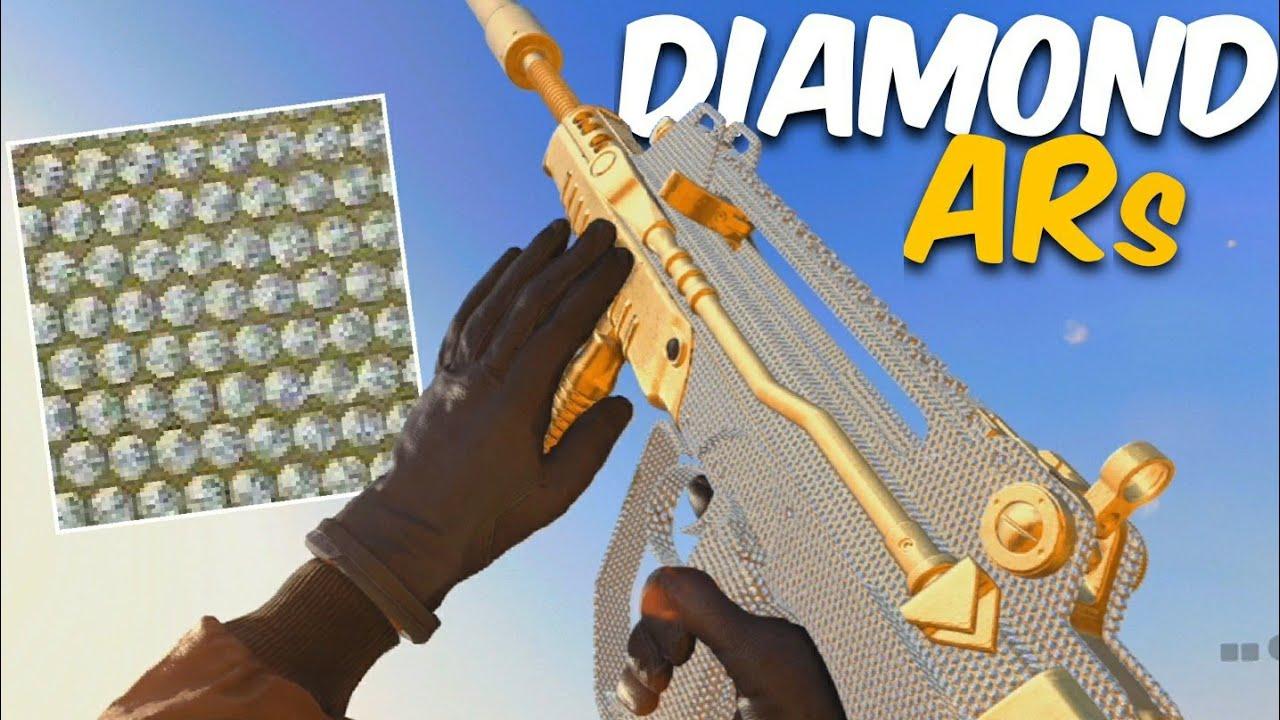 Hamii - Unlocking DIAMOND ARS in Black Ops Cold War! (ALL DIAMOND GUNS DONE!)