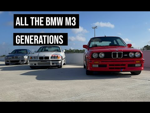 Behind the scenes with all the BMW M3 and M4 models