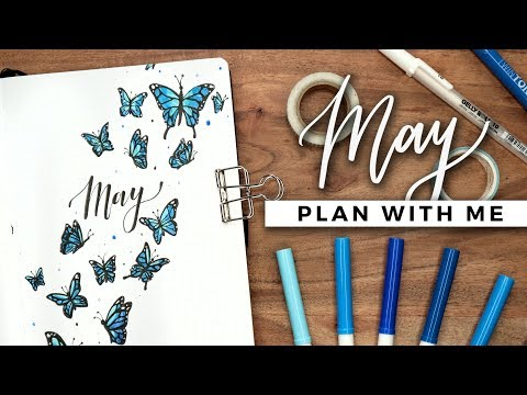 PLAN WITH ME | May 2019 Bullet Journal Setup