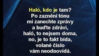 Chinaski - Tabáček (karaoke z www.karaoke-zabava.cz)
