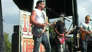 """Dance Pad """"The Faster The Treadmill""""-I Fight Dragons Live Warped Tour 2012 Charlotte"""