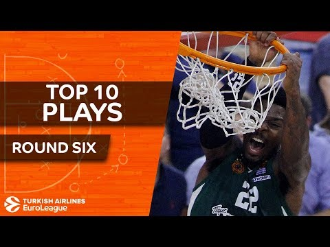 Top 10 Plays - Turkish Airlines EuroLeague Regular Season Round 6