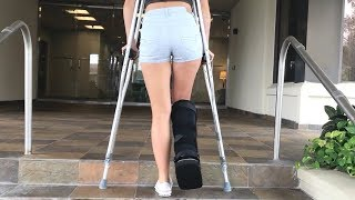 KALEE GETS AN MRI - SPRAINED ANKLE - GOOD or BAD?