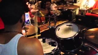 Daft punk get lucky (drum cover) feat pharrell