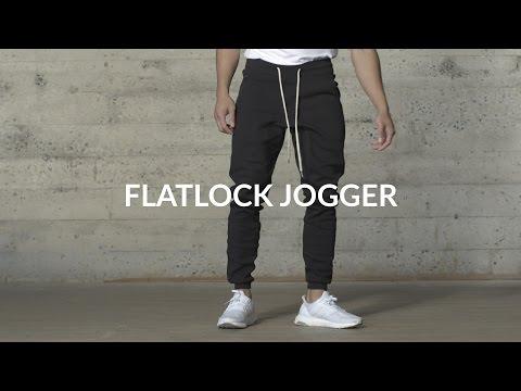 Aesthetic Revolution | Flatlock Jogger