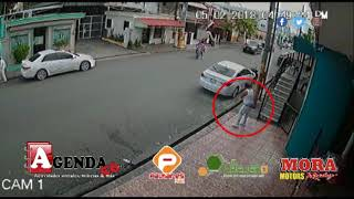 Video muestra asesinato de joven en Chacho Car Wash de SFM