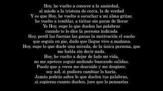 8. SHÉ -  CUIDA TUS PALABRAS (CON LETRA) [La Historia De Mi Vida Album 2010]