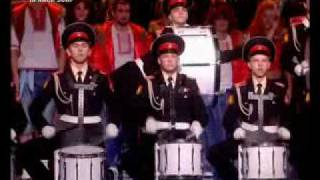t.A.T.u. and Alexandrov Red Army Choir on Eurovision 2009 in Moscow