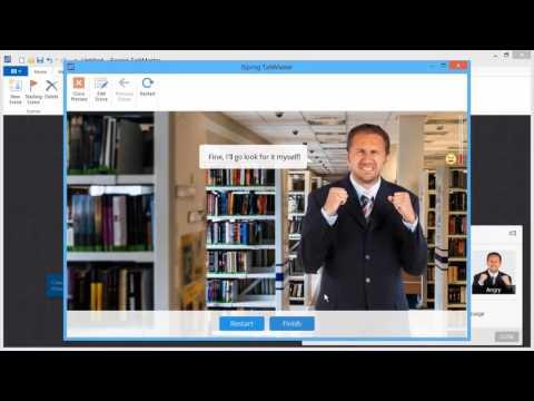 Jak tworzyć  symulacje i interaktywne dialogi w szkoleniach e-learningowych?