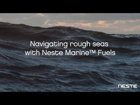 Navigating the rough seas with the new IMO2020-compliant Neste Marine 0.5, which contains maximum 0.5% sulphur and meets the stricter legislative requirements for maritime sulphur emissions. Watch the video to learn more.