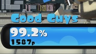 [Splatoon] Getting 99% in Turf War!