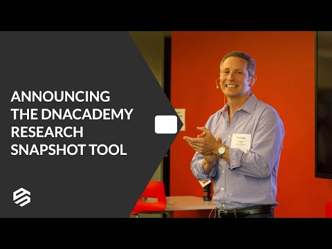 The DNAcademy Research Snapshot Tool