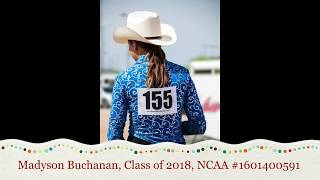Madyson Buchanan NCEA Horsemanship Recruitment Video