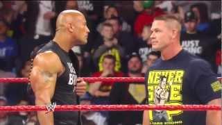 The Rock vs. John Cena Legacy vs Redemption- Wrestlemania 29HD