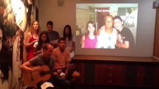 Tua Família - Anjos de Resgate - Homenagem à família Santos - NATAL 2012