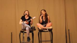 No Surprises Cover @ NDS Talent Show - Ashley and Maria