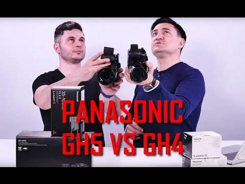 UNBOXING & REVIEW - PANASONIC GH5 VS GH4