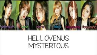 Hello Venus - Mysterious[Hangul/Romanization/English] Color & Picture Coded HD