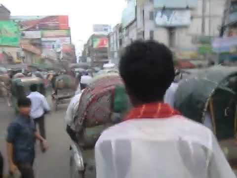バングラデシュ ダッカ 走れリキシャー