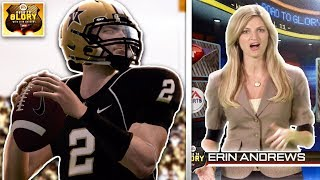 Erin Andrews is shook at my big game | NCAA 11 RTG #3