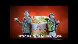 "Lucky Me! Supreme Jjamppong ""Aylabya"" tvc"