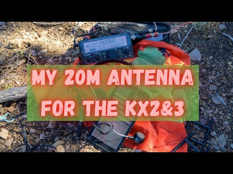 My KX2 Antenna Specs. Speaker Wire Antenna resonant on 20 meters. 4K