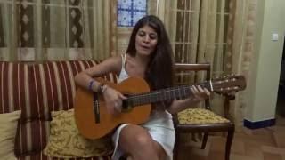 """Cover """"Hoy voy a verte de nuevo"""" (Gloria Estefan) - Rosa Macías ;)"""