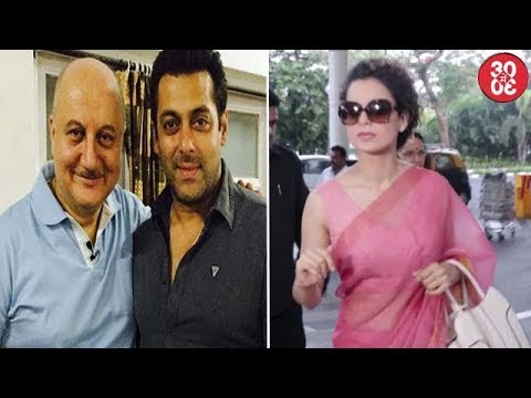 Salman Comes To Anupam's Rescue | Kangana Now Turns Editor For 'Simran'