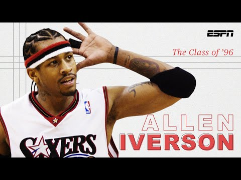 Allen Iverson was a ruthless ankle breaker and a revolutionary cultural icon   The Class of '96