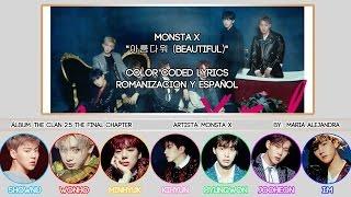 "MONSTA X (몬스타엑스) ""아름다워 (Beautiful)"" [COLOR CODED] [ROM|SUBESPAÑOL LYRICS]"