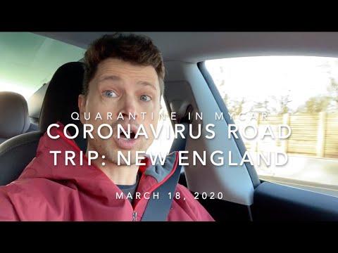 Tesla Model 3 New England Coronavirus Trip