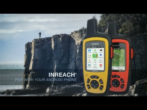 Garmin inReach: Pair with your Android Phone