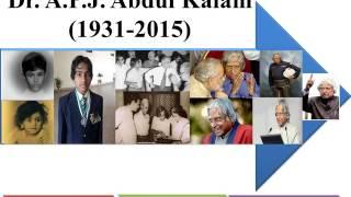 Collage of Dr. A.P.J. Abdul Kalam