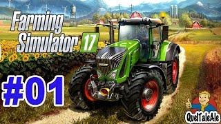 Farming Simulator 17 - Gameplay ITA - Let's Play #01 - La zappa il tridente il rastrello la forca...