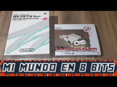 NINTENDO FAMICOM AV (HVC-101) y FAMICOM MODEM (Famicom Network System) - Unboxing y Review