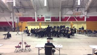 Calexico HS Symphonic Band - Variations on a Shaker Melody - 2013 Imperial HS Band Festival