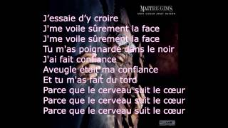 Maitre Gims - Brisé (PAROLES) HD