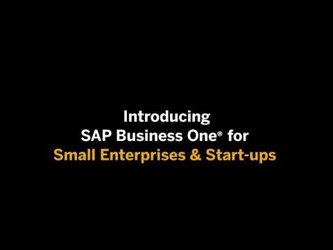 Speciální edice SAP Business One pro firmy do 5 uživatelů