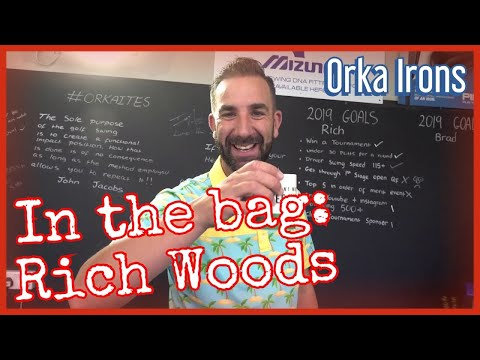 In the bag with Rich 'Houdini' Woods (Orka Irons and woods)