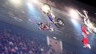 FMX ultimative Freestyle-Show wahnsinnige Stunts Extremsportler Night of Freestyle Super Heroes Tour