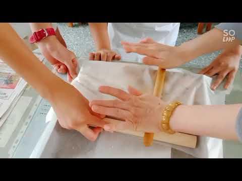期末獎勵烘焙活動 甜蜜鬆餅&雪Q餅製作 - YouTube