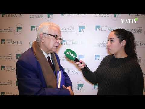 Video : Cycle de conférences du Groupe Le Matin : Déclaration de Belkacem Boutayeb, consultant en finance