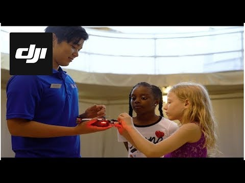 DJI Stories - Inspiring Girls to Pursue STEM