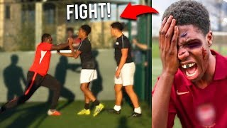 This Football Team BEAT ME UP After My Soccer match.. AMAZING Football Competition